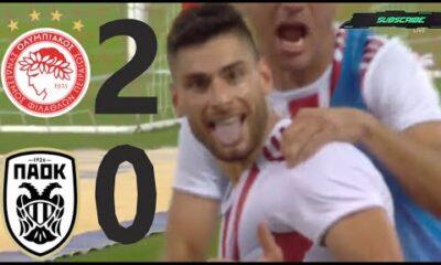 Ολυμπιακός - ΠΑΟΚ 2-0 Κύπελλο