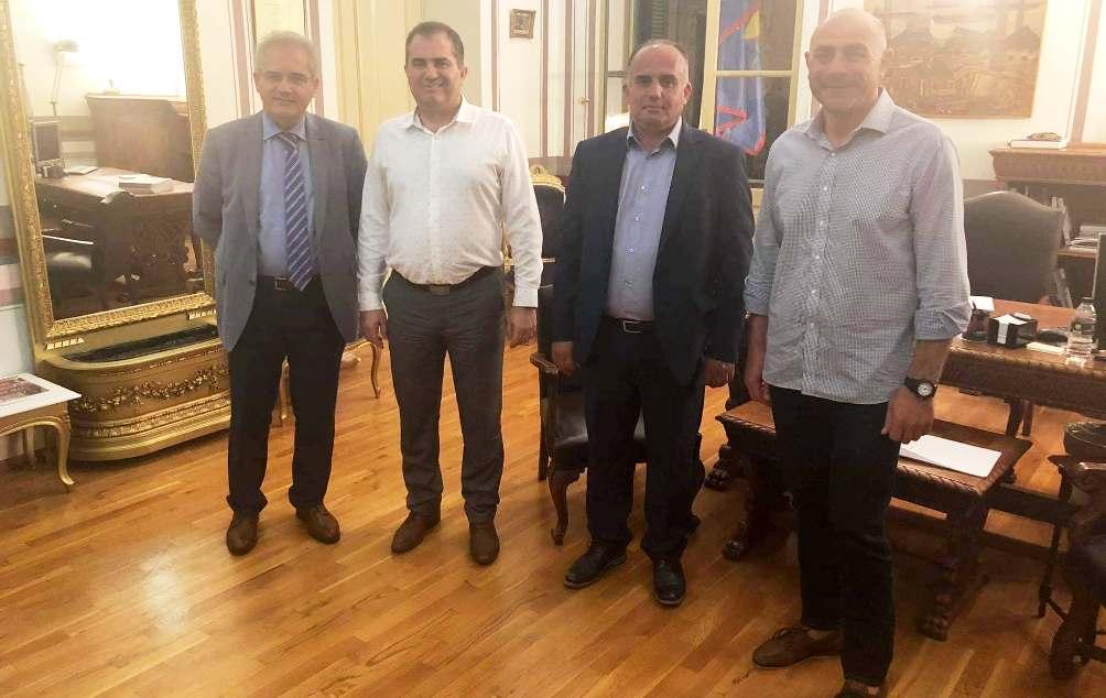 Στον Δήμαρχο Καλαμάτας, Χριστόπουλος, Μαυρέας, Φαββατάς για το γήπεδο!