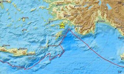 Οι σεισμοί σήμερα σε Ρόδο... 16