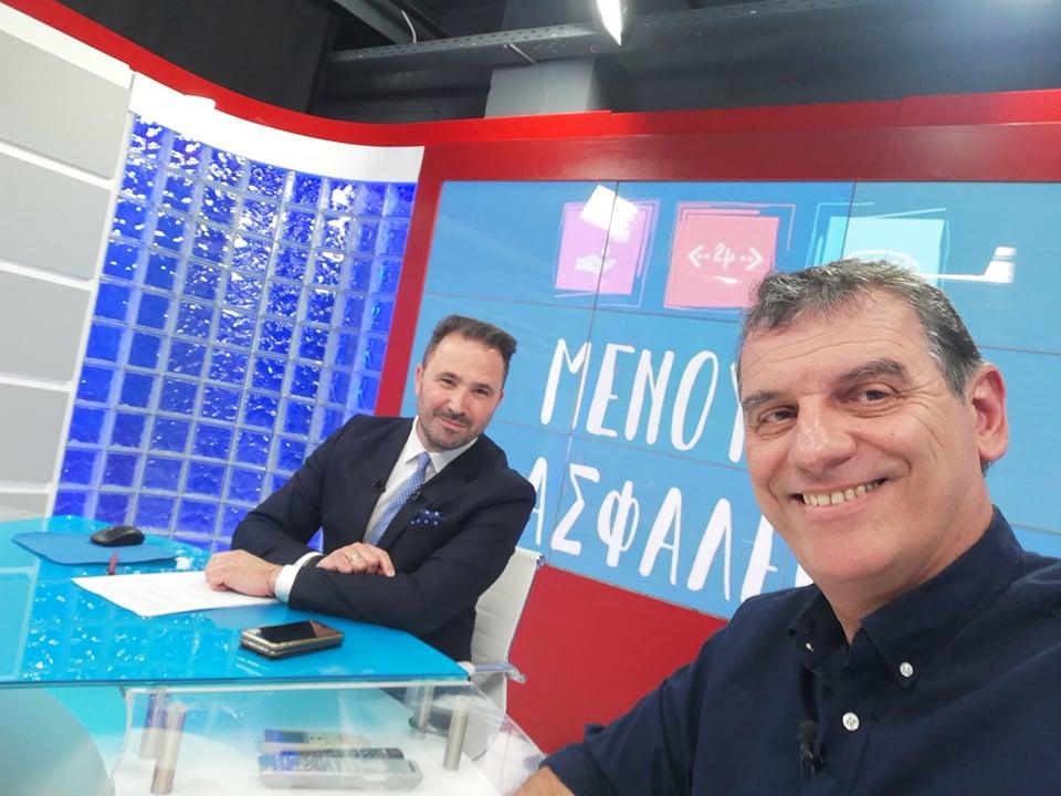 Στο Best tv σήμερα ο Σωτήρης Γεωργούντζος (21:45′)