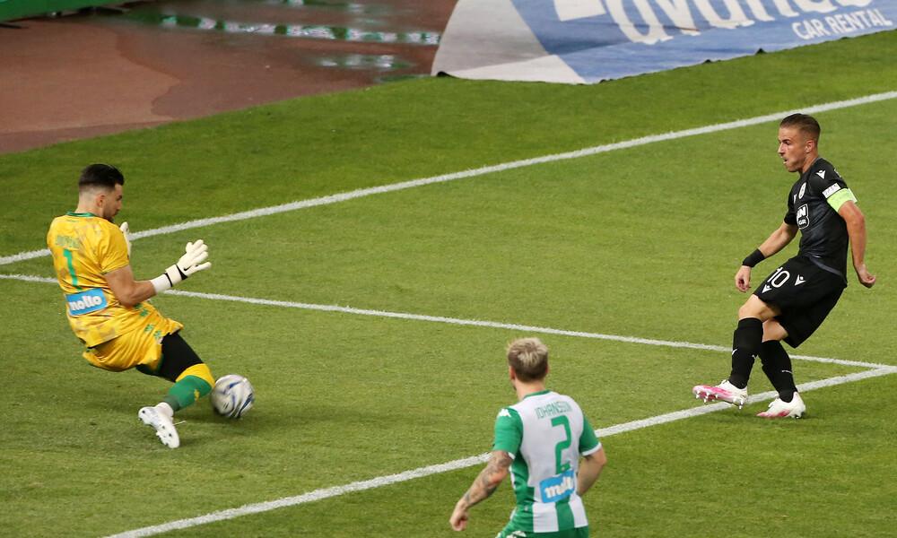 Παναθηναϊκός-ΠΑΟΚ 0-0: Ο Διούδης σταμάτησε τον ΠΑΟΚ