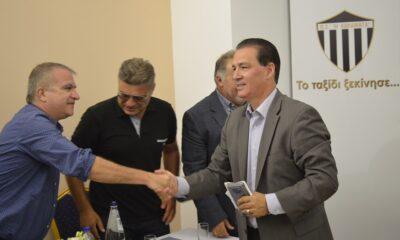 Ο Ανδρόπουλος νέος πρόεδρος του ΠΣ Η Καλαμάτα! Αποκλειστικό 2