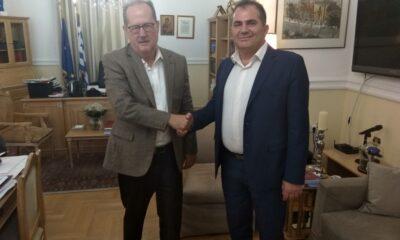Συνάντηση Δημάρχου Καλαμάτας – Περιφερειάρχη Πελοποννήσου