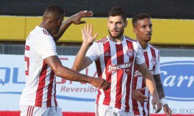 """Άρης - Ολυμπιακός 2-4: Τα γκολ από το """"Βικελίδης"""" (video) 8"""