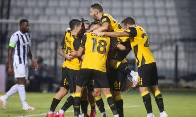 ΠΑΟΚ – ΑΕΚ 0-2: «Ένωση» για… Champions League στην Τούμπα!