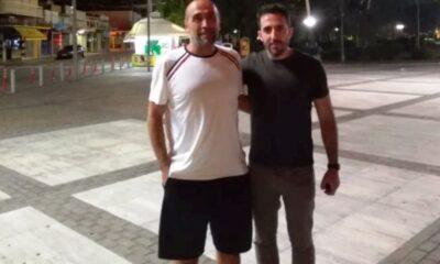 Ξανά ο Τασιόπουλος γυμναστής στον Πάμισο