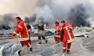 Εικόνες αποκάλυψης στη Βηρυτό : Πάνω από 100 νεκροί και 4.000 τραυματίες (+pics) 6