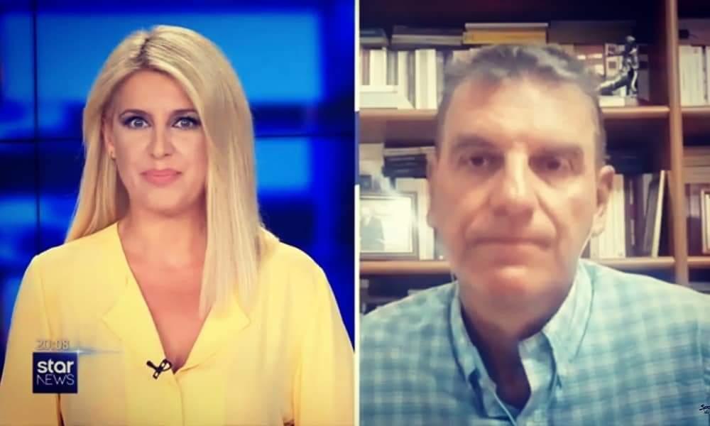 """Γεωργούντζος σε Star Channel: """"Εγκληματίες όσοι αδιαφορούν για τον κορονοϊό"""" (video)"""