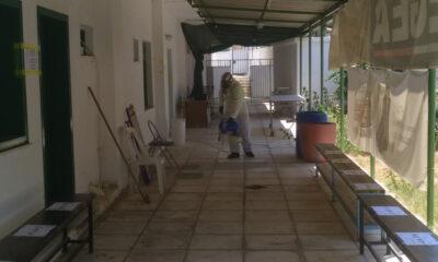 """Γενική απολύμανση στο γήπεδο """"Σταύρος Παπαδόπουλος"""" 8"""