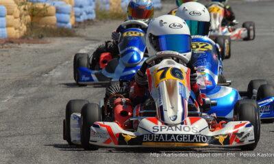 Ο θεαματικός 2ος γύρος του Πανελληνίου Πρωταθλήματος Karting στην Καλαμάτα