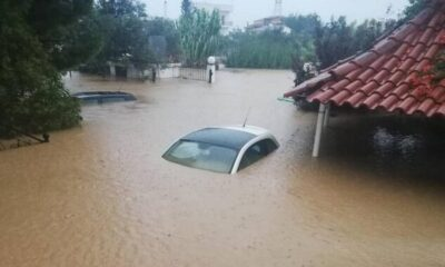 Καταστροφές και νεκροί από τις πλημμύρες σε Εύβοια…