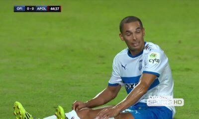 ΟΦΗ - Απόλλων Λεμεσού 0-1: Γκολ και highlights (video) 9