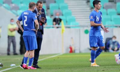 Σλοβενία - Ελλάδα 0-0: Χωρίς σέντερ φορ, γκολ δεν μπαίνει... 16