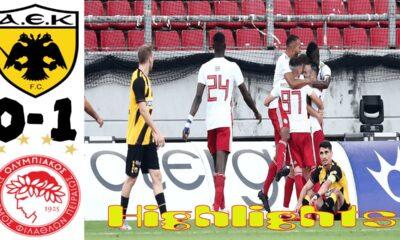 Ολυμπιακός - ΑΕΚ 0-1, τελικός κυπέλλου
