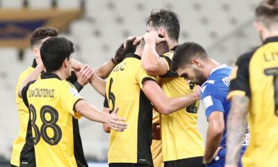 Super League: Η βαθμολογία μετά και τη νίκη της ΑΕΚ