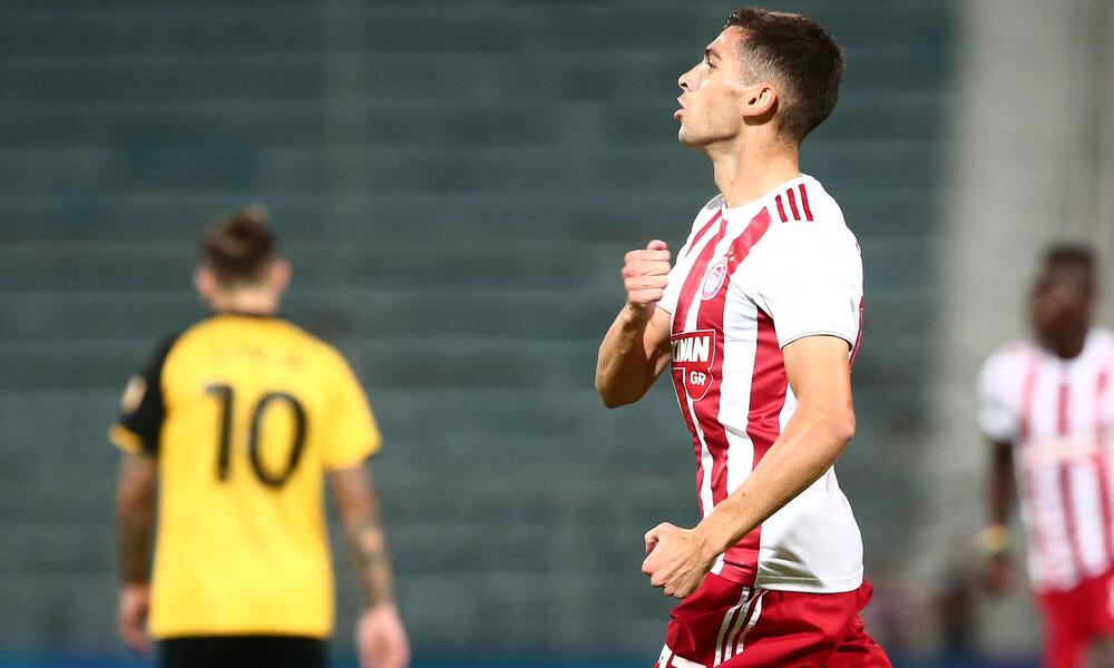 ΑΕΚ-Ολυμπιακός 0-1: Νταμπλούχος ξανά!