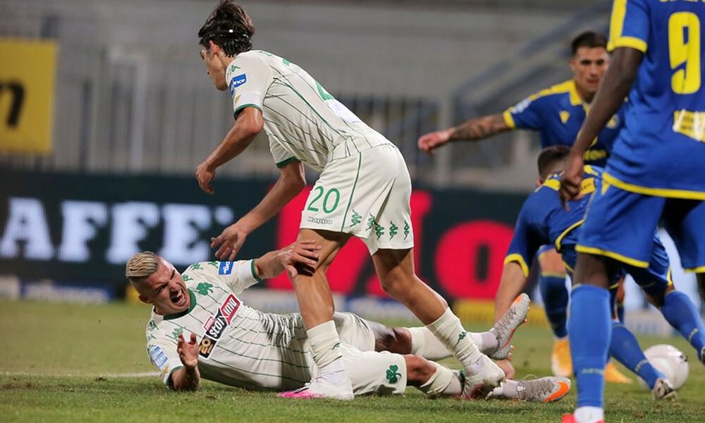 Αστέρας Τρίπολης – Παναθηναϊκός 1-0: Το γκολ του Ριέρα (video)