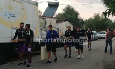 Αθήνα η Μαύρη Θύελλα για το φιλικό με Ρόδο, στα Γλυκά Νερά (17:00 LIVE steaming Sportstonoto)