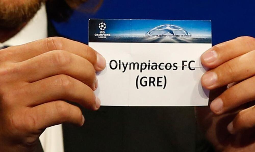 Ολυμπιακός: Κληρώνει για το Champions League – Οι πιθανοί αντίπαλοι