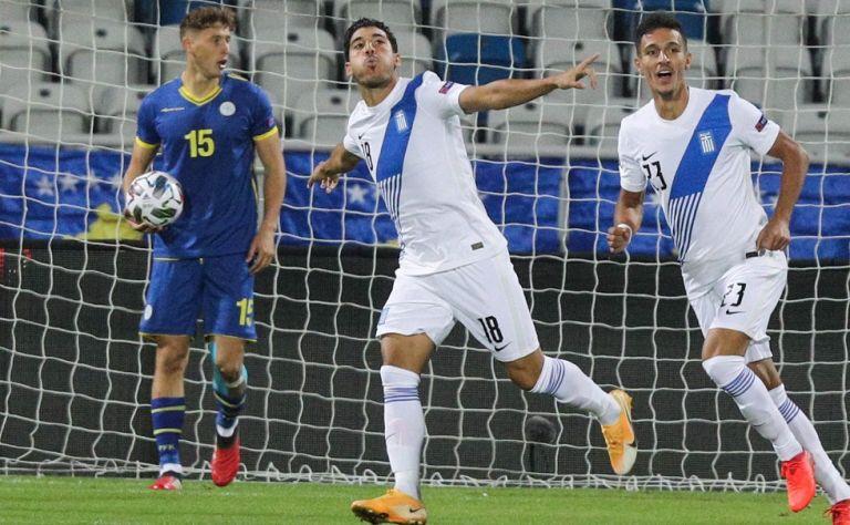 Κόσοβο-Ελλάδα 1-2: Δεν εντυπωσίασε, αλλά νίκησε