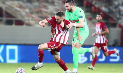 """Ολυμπιακός – Ομόνοια 2-0: Προβάδισμα για τ' """"αστέρια"""" 10"""