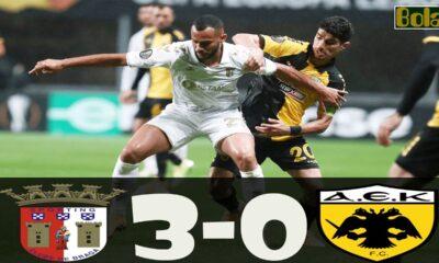 Μπράγκα - ΑΕΚ 3-0: Γκολ και highlights (video) 14