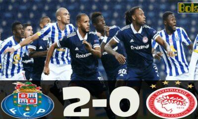 Πόρτο - Ολυμπιακός 2-0 βίντεο