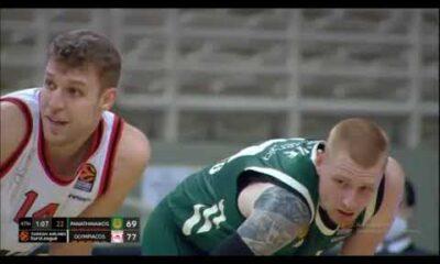 Παναθηναϊκός ΟΠΑΠ - Ολυμπιακός 71-78: Highlights (video) 12