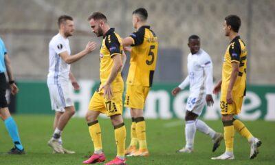 Europa League : Το πρόγραμμα και η βαθμολογία στον όμιλο της ΑΕΚ