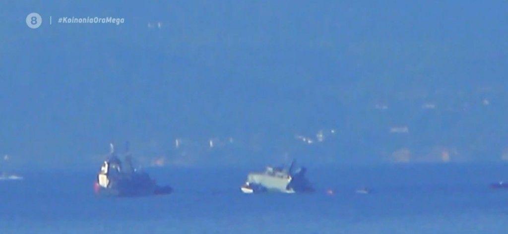 Πειραιάς : Σύγκρουση εμπορικού πλοίου με πλοίο του Πολεμικού Ναυτικού – Σε εξέλιξη επιχείρηση