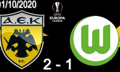 ΑΕΚ-Βόλφσμπουργκ 2-1: Γκολ και highlights (video) 8