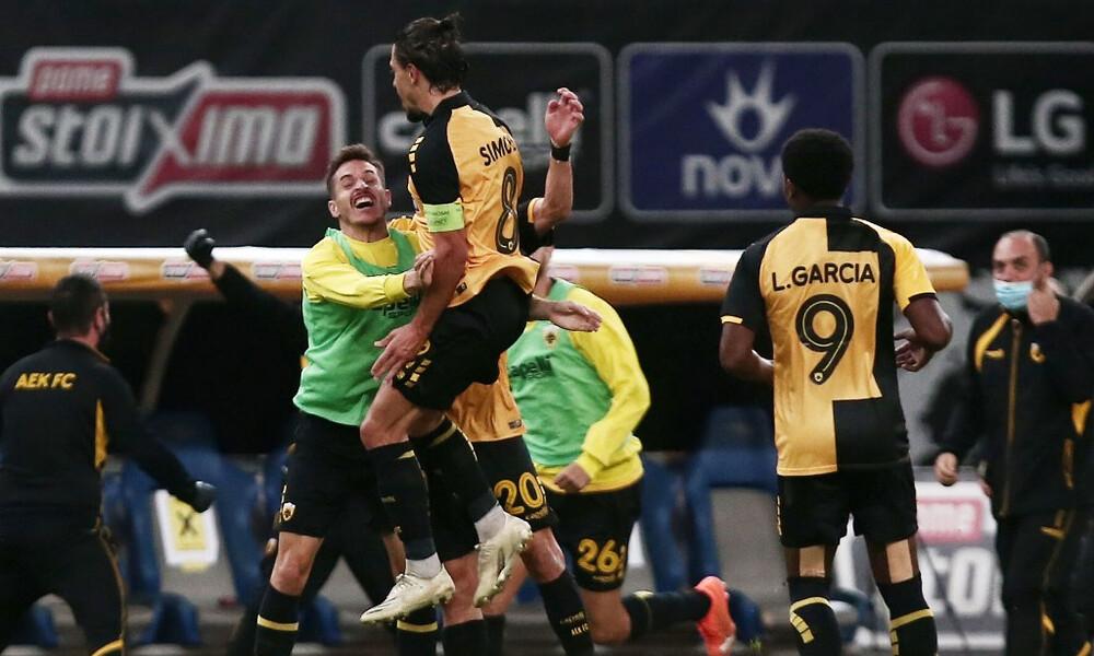 ΑΕΚ – Βόλφσμπουργκ 2-1: Πρόκριση με ανατροπή