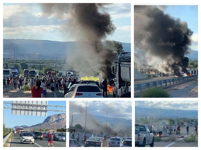 Αιγάλεω στο δρόμο για Πάτρα: Αποκλεισμένοι στο Ζευγολατιό Κορινθίας, λόγω Ρομά!