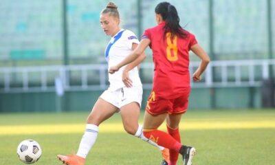 Ελλάδα-Μαυροβούνιο 1-0: Η Μάρκου χάρισε τη νίκη στην Εθνική Γυναικών