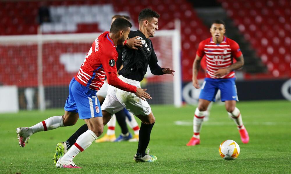 Γρανάδα-ΠΑΟΚ 0-0: Πέταξε τις ευκαιρίες και τη νίκη