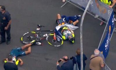 Ελικόπτερο προκάλεσε σοβαρούς τραυματισμούς στον ποδηλατικό γύρο της Ιταλίας 6