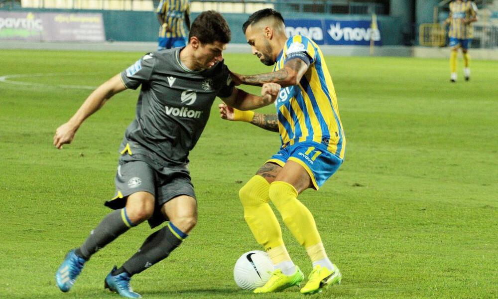 Παναιτωλικός-Αστέρας Τρίπολης 1-1: Τον κράτησε ο Αριγίμπι (+video)