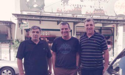 Στην Καλαμάτα & στον… φούρνο του Κωνσταντινέα, ο πρόεδρος της Τρίγλιας! (+pic)