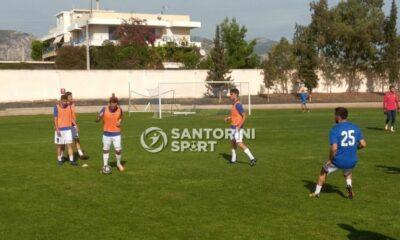 """Δυνατός και ο Ασπρόπυργος, """"φιλικά"""" 1-0 την Σαντορίνη! !"""