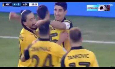 ΑΕΚ - ΑΕΛ 4-1: Τα γκολ (video) 18