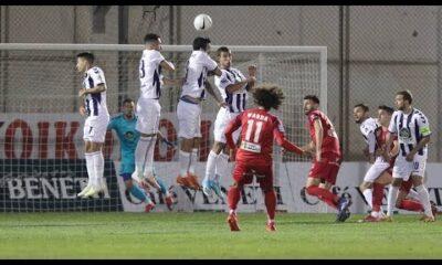 Απόλλων Σμύρνης – Βόλος 3-3: Γκολ και highlights (video)
