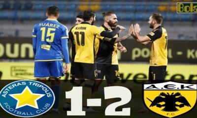 Αστέρας Τρίπολης – ΑΕΚ 1-2: Γκολ και highlights (video)