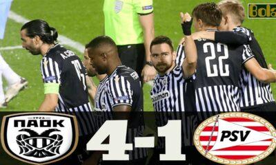 ΠΑΟΚ - Αϊντχόφεν 4-1: Γκολ και highlights (video) 20