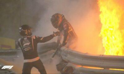 Formula 1:Άγιο είχε ο Ρομέν Γκροζάν (+videos)