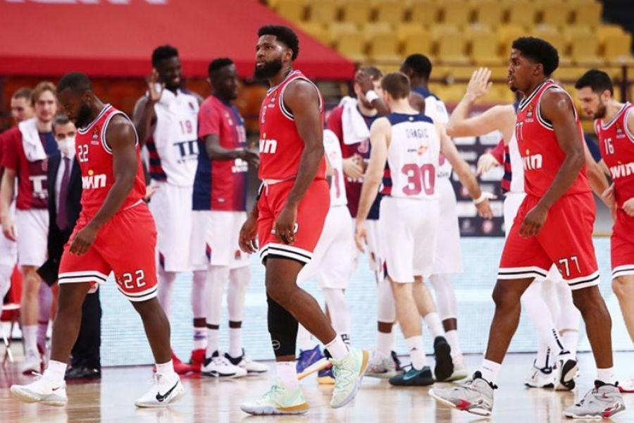 Ολυμπιακός – Μπασκόνια 76-90: Έπεσε στην… άνιση μάχη με την Μπασκόνια ο Ολυμπιακός