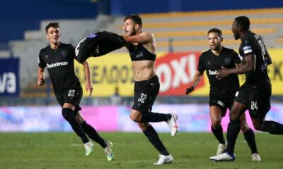 """Παναιτωλικός-ΠΑΟΚ 1-3: Τον """"ξελάσπωσε"""" το αριστερό του Νινούα 16"""