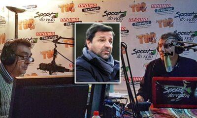 """Γκόφας σε """"SportstoNoto Radio"""": """"Λαχείο ο Πρασσάς, στις 6-7 πρώτες ομάδες στην Ελλάδα η Καλαμάτα, ουδέν σχόλιο για Αναστό"""" (ηχητικό) 6"""