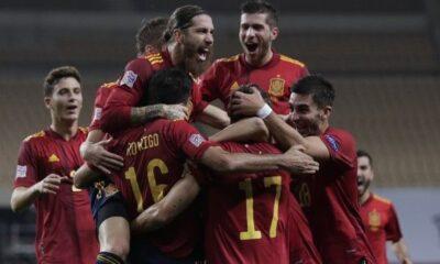 Nations League: Η Ισπανία διέλυσε 6-0 τη Γερμανία 12