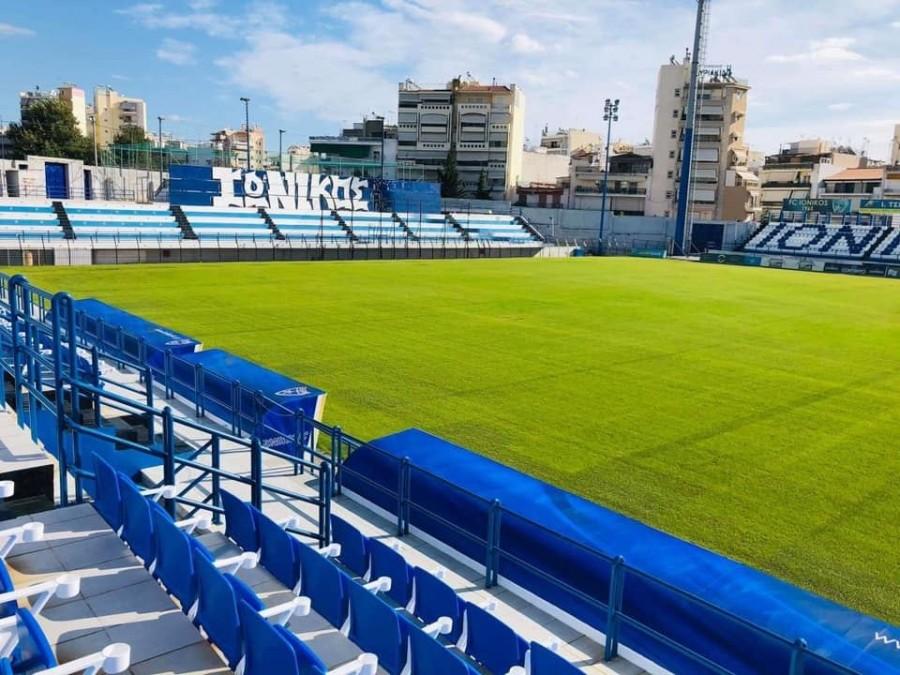 Γήπεδο – στολίδι πλέον στη Νίκαια! (+video)