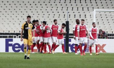 ΑΕΚ-Μπράγκα 2-4: Τραγική εμφάνιση, ντροπιαστική ήττα! (+videos) 10